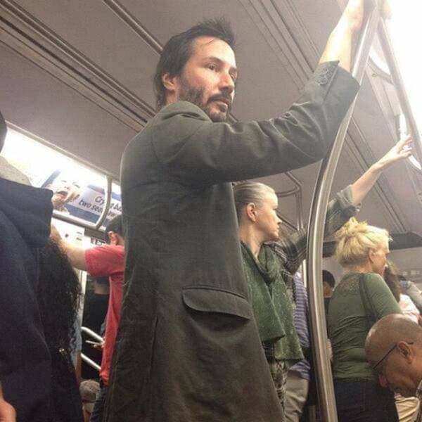 ¿Pensabas que Keanu Reeves era un hombre afortunado?  Keauno